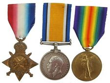 WW1 BRITISH TRIO 1914-15 STAR WAR & VICTORY TO CPL.G.FERNEE.A.S.C
