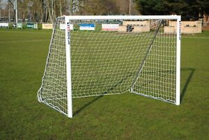 12ft x 6ft Football Goal - Great for the Garden - Made in the UK by MH Goals