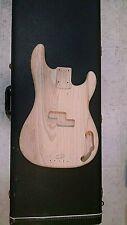 New Stewart MacDonald Swamp Ash Fender Precision Bass Replacement Body