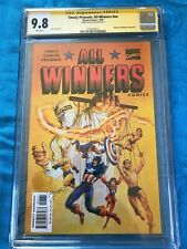 Timely Presents All-Winners #19 - Marvel - CGC 9.8 NM/MT - Signed by Ray Lago