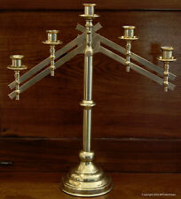 Vintage Solid Brass Church Candle Holder