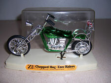 "1971 Vtg Zee Toys ""Chopped Hog"" Motorcycle Model in Case"