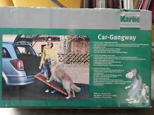 Rampe d'accès Car Gangway Karlie neuve pour chien