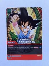Carte Dragon ball Z Le Poing De Shenron DB-874
