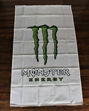New listing New Monster Energy Banner Flag Drinks Racing Advertising Promotional Man Cave