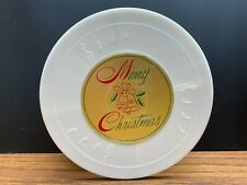 """New listing Vintage Christmas Musical Rotating Wind Up Display Stand plays """"Silent Night"""""""
