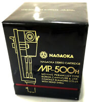 NAGAOKA MP-500H STEREO CARTRIDGE+HEADSHELL FROM JAPAN  w/ TRACKING FREE SHIPPING