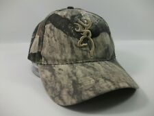 Browning Camo Hat Camouflage Hook Loop Baseball Cap