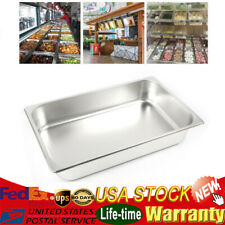6 Pan Full Size 24 Deep 8513l Stainless Steam Table Hotel Pans For Buffet