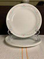 """4- Corelle by Corning MORNING DREAM  Salad Plates 7 1/4""""  EXCELLENT"""