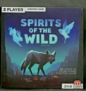 Spirits of the Wild Mattel Games 2 player Nick Hayes - NEW SEALED FREE EXPD SHIP