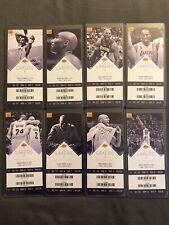 LA Lakers (8) Ticket Stubs 2015-16 Season Kobe - Free shipping