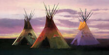 R. Tom Gilleon TRIAGE MuseumEdition™ giclee canvas, Tipi, Tee Pee #25/25