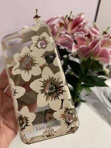 Kate Spade New York Diamante Floral Iphone 7/ 8 Case Cover