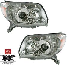 NEW OEM 2006-2009 TOYOTA 4RUNNER FRONT HEADLIGHTS RIGHT & LEFT 2 PC SET