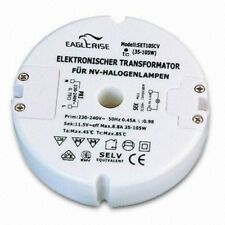 ► Electr. Transformer Eaglerise set105cv eet105cv Round Mini-Transformer 105 Watt Halogen