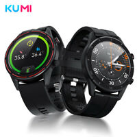 Smart Watch Orologio Fitness Tracker IP67 Businessman KUMI Magic GT3 Nero