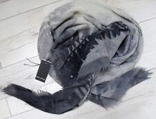 Marc O'Polo Tuch Wolle Grautöne handbemalt