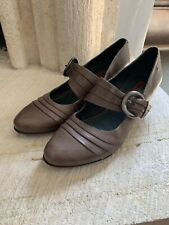 Pikolinos Mary Jane Gandia Pumps Comfort Shoes Size 40  Leather Heels