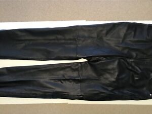 Wilson's leather pants size 36 Wilson black leather