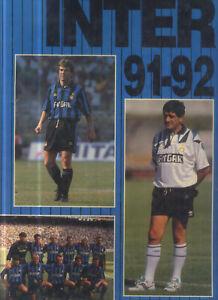 INTER 91-92 DI QUARTO ANDREA FORTE EDITORE 1991