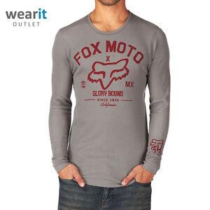 Fox Head Men's Knowhere Thermal T-Shirt Fleece - Size S / M / L / XL / XXL - New