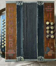 Hohner Club Modell 1 Akkordeon Ziehharmonika Rarität