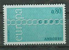 Andorra  Briefmarken 1971 Europa  Mi.Nr.233 ** postfrisch