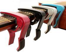 Capo Cejilla Guitar guitarra eléctrica acústica Cambio  Quick Change -HO