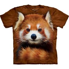Adult Large - Red Panda Portrait T-shirt - The Mountain®