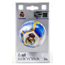 Oficial Real Madrid Fc Kick N Trick Bean lleno de fútbol para niños nuevo regalo de Navidad