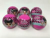 Lot of 6 LOL Surprise Globes Capsules Tattoo Ponies Ring Bag NEW SEALED