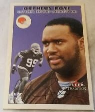Orpheus Roye Cleveland Browns Fleer Tradition 2000 NFL Trading Card # 155