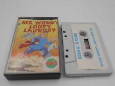 CASSETTE MR WONG´S LOOPY LAUNDRY SPECTRUM SINCLAIR ZX 48 128K.COMBINO ENVIO