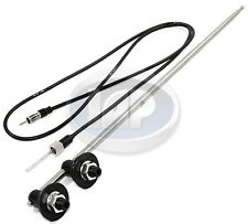VOLKSWAGEN VW BUG BUS DUAL SIDE MOUNT ANTENNA ANT 91 58-3506