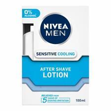 NIVEA MEN Shaving, Sensitive Cooling After Shave Lotion, 100ml smooth soft Skin