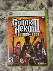 Guitar Hero III 3: Legends of Rock (Xbox 360) Complete W/ Manual