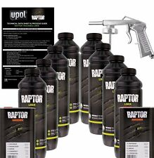 U-POL Raptor Tintable Urethane Spray-On Truck Bed Liner Kit w/Spray Gun, 8 Liter