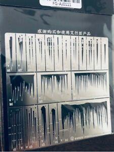 Alexen Model Stencil Template FG-AJ0111