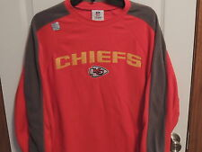 Kansas City Chiefs Red/Gray Fleece Shirt  Mens Medium  New w/ Tags Free Shipping