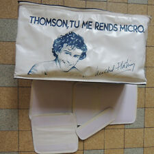 SAC BAG PROMO Thomson MO5 série spéciale Michel Platini 1986 RARE TBE retro game