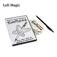 Pointless ( DVD+ Gimmick ) by Gregory Wilson Magic Tricks Close-up Stage Props