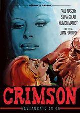 Crimson DVD SINISTER FILM