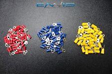 150 PK 10-12 14-16 18-22 GAUGE VINYL RING CONNECTORS 50 PCS EA TERMINAL #8