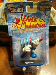 Rare Tech Deck Dude World Industries Wet Willy Super Soaker Toy NEW IN BOX 2001
