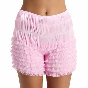 Womens Ruffle Lace Bloomers Shorts Cute Layer Shorts Skirt Safty Pants Panties