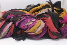 END of SEASON Sale Silk Chiffon Yarn, 100% Silk Multi color, Printed 1 Hank FI32