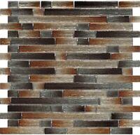 Mosaic Tile Backsplash Kitchen Wall, Crystal Glass Bathroom Wall Tile