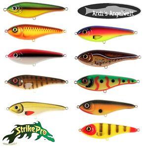 StrikePro Buster Jerk 2 12cm / 37g verschiedene Farben Jerkbait  AKTIONSPREIS