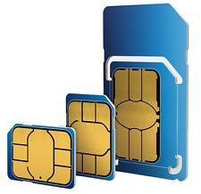 O2 Simply Pay As You Go SIM Card. 02 Nano / Micro / Standard SIM Card